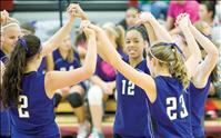 Lady Vikings build team unity