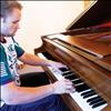 Josiah Pettit plays the piano. He plans to hold a concert benefitting the Ronan Bread Basket as his Eagle Scout Project.