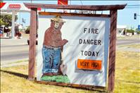 Burning season canceled as dry conditions raise fire danger