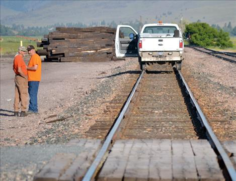 Speeders were eventually replaced by Hy-Rail vehicles for track inspection and maintenance.