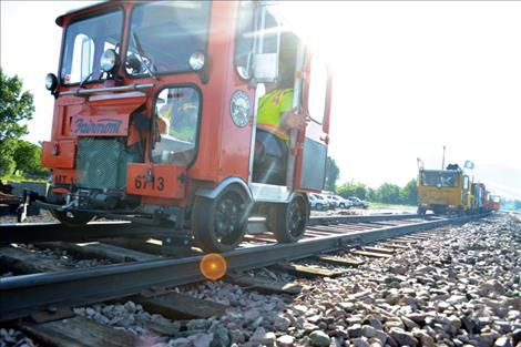 The click of the steel wheels on rails is part of the nostalgic allure of operating a railcar.