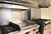 Commercial kitchen available to rent hourly