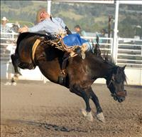 Cowboys, cowgirls compete at Polson rodeo