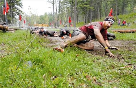 The Montana Spartan Race tests athletes' endurance and strength through a variety of obstacles.