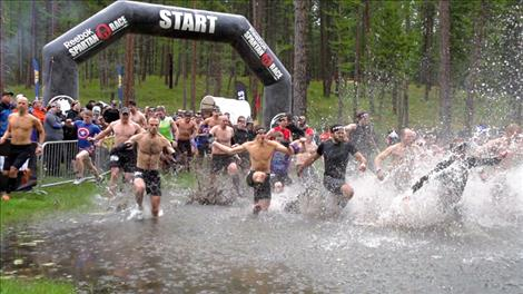 This year's Spartan Race was held May 9-10 south of Bigfork.