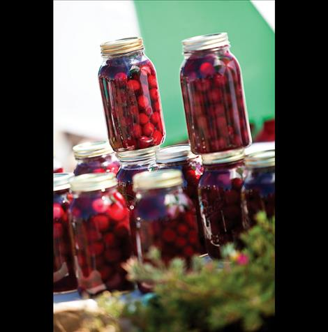 Cherries are available in lemonade, turnovers and pies, or fresh or canned during the festival.