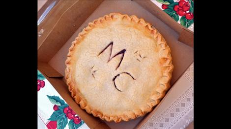 the Montecahto Club sold out of their famous cherry pies.