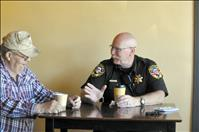 Police Chief talks crime over coffee