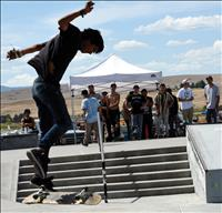 Polson throws 20th Skate Jam