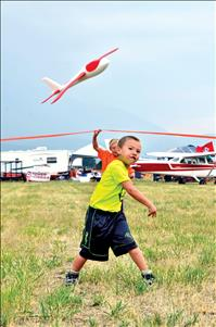Using wings to grant wishes for kids