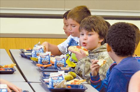 All elementary students in Mission schools receive  free lunch