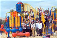 Nonprofit donates to playgrounds, trails