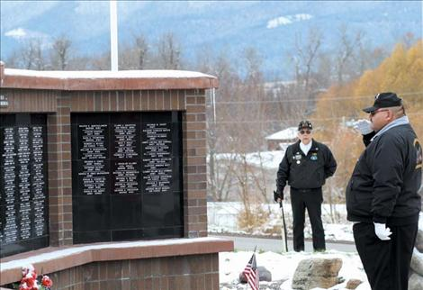 Community honors local veterans