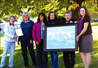 LFVCF donates painting to The Nest