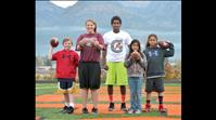 Local youths place at Punt, Pass & Kick event