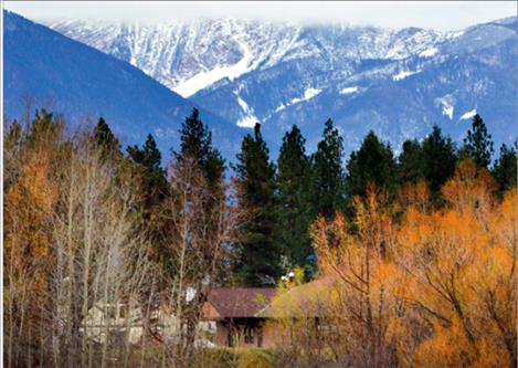 The Salish Kootenai College campus in Pablo sits nestled beneath the majesty of the Mission Mountains.