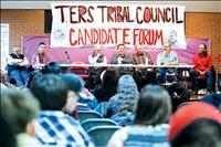 Two Eagle River students organize, host tribal candidate forum