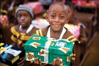 Locals send gift-filled shoeboxes