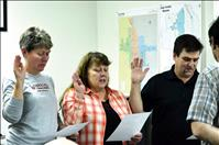 Ronan City Council members sworn in for next year