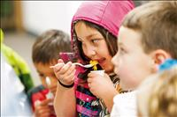 Students experience locally-grown, healthy foods