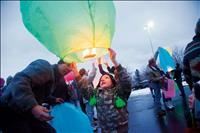 LANTERNS HELP RING IN NEW YEAR