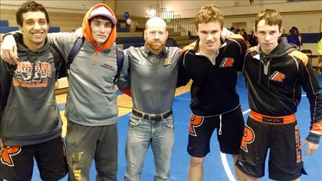 Senior grapplers