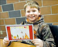 Polson youngster designs CSKT Christmas card