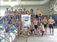 Team championship, spirit, community participation mark state swim meet