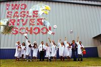 16 diplomas awarded to Two Eagle River School Class of '16