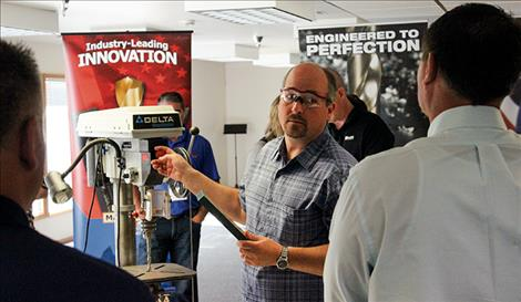 Representatives and customers from all over the country came to the Rocky Mountain Twist company for a two-day networking event this past weekend.