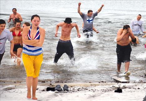 Annual Polar Plunge continues to chill brave souls in Polson