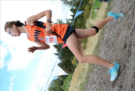 onan's Ashley McCready finished in 75th, beating her best time by more than one minute at 19:54.