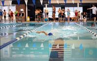 Lake Monsters start season with swim meet, clinic