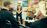 Western Montana Stockgrowers meet, eat and socialize