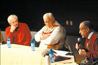 SKC Interfaith Peace Panelists speak on faith, humanism, relationships