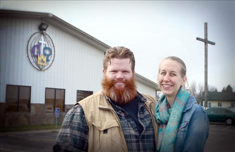 Nace and Bethany Howell began serving at Terrace Lake Community Church in Ronan on Sept. 11.