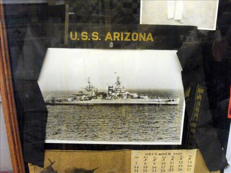 Museum remembers U.S.S Arizona.