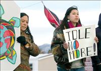 Locals join 'Idle No More' movement