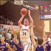 ROB ZOLMAN/VALLEY JOURNAL Pirates' Matthew Rensvold drives the paint for a score against the Wildcats.