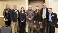 4-H members, leaders interact with state legislators