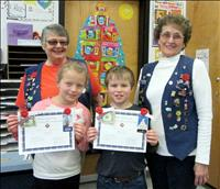 Coloring contest winners awarded