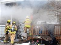 Ronan home damaged by fire, smoke