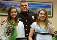 Commission honors citizens, officers