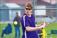 Polson tennis split matches, Ronan picks up victory on road