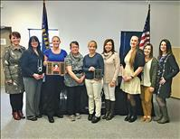 'Wrapped in Hope' project receives public health award