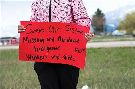 Walkers bring attention to missing or murdered indigenous women