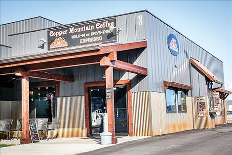 Copper Mountain Coffee is open for business in the Ridgewater development.