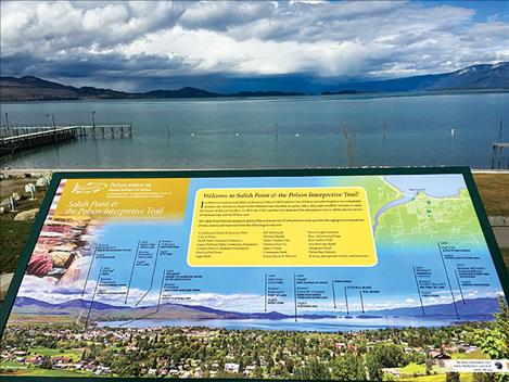 The City of Polson and the Confederated Salish and Kootenai Tribes will host a ribbon-cutting celebration of Polson's new interpretive trail on Saturday, May 27 at Sacajawea Park.