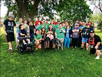Special Olympians celebrated