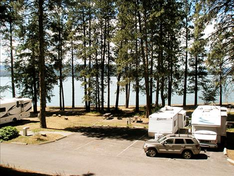 Finley Point State Park is getting rid of six existing RV spots but adding 12 new spots at a different location